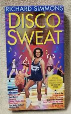 RICHARD SIMMONS DISCO SWEAT Vhs Video Tape 1994 Dance Aerobics Excercise Workout