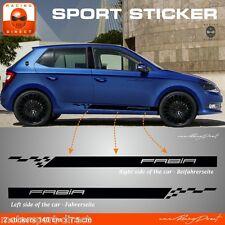 Sticker Skoda Fabia pour bas de caisse aufkleber adesivi pegatina SK81N