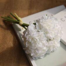 28cm 5 Heads Bunch Artificial Peony Silk Flower Hydrangea Wedding Home Decor