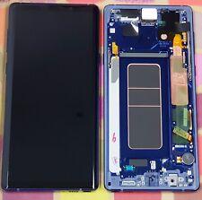 GENUINE BLUE SAMSUNG SM-N960F GALAXY NOTE 9 SCREEN AMOLED 2k LCD FRAME DISPLAY