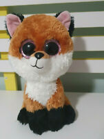 TY BEANIE BOOS TY SILK SLICK THE FOX  ABOUT 24CM