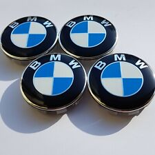 For BMW ALLOY WHEEL CENTRE CAPS E30,E36,E46,E92 1,3,5,6,7,X5 X6 M3 Z4 68mm X4pcs