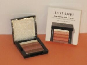 BOBBI BROWN MINI SHIMMER BRICK COMPACT PALETTE # BRONZE 4 G. MADE IN ITALY -NEW!