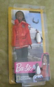 BARBIE DOLL POLAR MARINE BIOLOGIST WITH PENGUIN NEW IN BOX