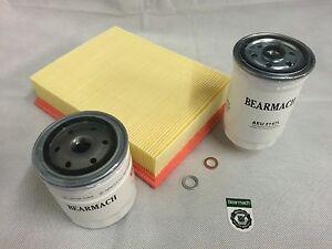 Bearmach Land Rover Range Rover 300tdi (94-95) Engine Filter Service Kit BK0017