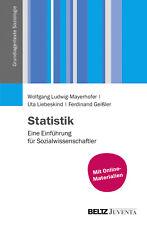 Statistik Ludwig-Mayerhofer, Wolfgang|Liebeskind, Uta|Geißler, Ferdinand Grundl