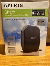 Belkin SHARE N300 Wireless Modem Router