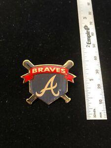 Atlanta Braves Vintage Throwback Collectable Lapel Pin