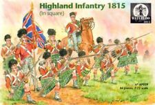 Waterloo 1/72 Napoleonic Highland Infantry 1815 (in Square) # AP039