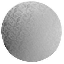 """Confezione da 6 Mason Cash color argento. 30cm 12"""", 12 mm di spessore per torta Base Drum"""