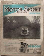 MOTOR SPORT Magazine March 1935 Vol 11 No 5 Rolls Royce