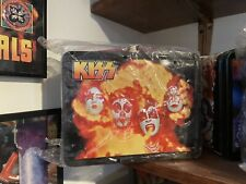 8 Different Kiss lunchboxes 6 Thermoses All Mint Not Vintage But 2000's