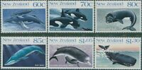 New Zealand 1988 SG1491-1496 Whales set MNH