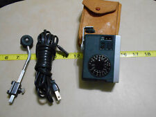 Vintage Kako 818 Camera Flash with Manual, Power Cord, and Mount Bar