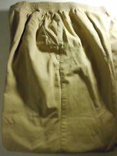 Elisabeth Khaki Pants Cotton Size 18