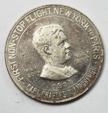 1927 Lucky Charles Lindbergh Coin Spirit of St Louis So Called Half Dollar