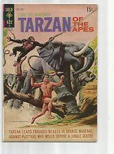 TARZAN #203 VF- VERY FINE- WHITE PAGES BRONZE AGE COMIC GOLD KEY1971