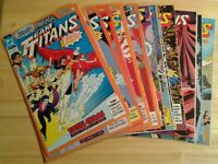 Team Titans lot of 16 Comics DC includes all 5 variants for issue #1 VF/NM