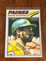 1977 Topps Baseball BASE CARD - Dave Winfield - SAN DIEGO PADRES