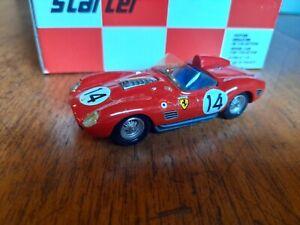 Rare Starter 1:43 Resin Built Model 1959 Ferrari TR59 Le Mans, MIB