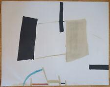 Jean HÉLION (1904-1987) Grande Lithographie Equilibre Signée & Justifiée de 1974