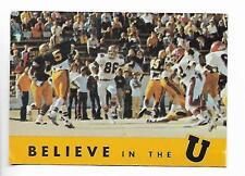 Vintage 1975 Wichita State University football schedule, RARE!