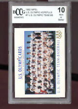 1992 Impel Olympicard U.S. Olympic Hopefuls 7 Olympic Team Baseball Card BCCG 10