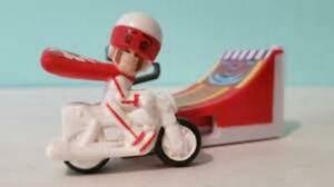McDonald's 2019 Toy Story 4 Happy Meal Toy #6 Duke Caboom's Wheeeee! Jump