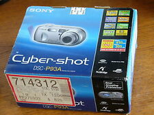 NEW Sealed Sony Cyber-shot DSC-P93A 5.1 MP Digital Camera - Silver