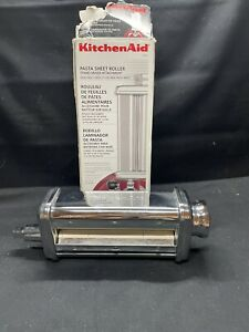 KitchenAid KSMPSA Pasta Sheet Roller Attachment - Silver- Made In Italy