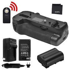 Battery Grip for Nikon D850 + EN-EL15/EN-EL15a Battery + Charger + BONUS