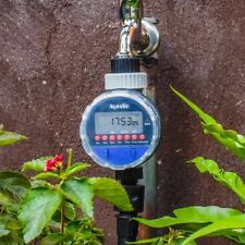 Garden Waterproof Water Tap Programmable Timer Sprinkler System Tree Irrigation