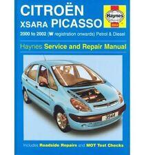 CITROEN XSARA PICASSO 1.6 1.8 PETROL & 2.0 DIESEL 2000-2002 OWNERS REPAIR MANUAL