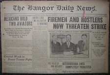 August 18, 1919 The Bangor News - Red Sox Babe Ruth Hits 19th Homerun, Pitches