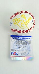 Rita Moreno West Side Story Signed Autograph Baseball PSA/DNA COA