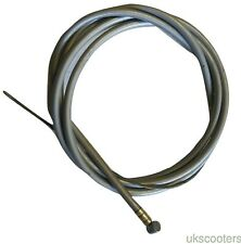 ukscooters VESPA FRICTION FREE FRONT BRAKE CABLE INNER AND OUTER GREY PX LML T5