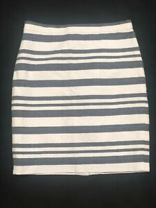 J.CREW STRIPED SPRING SKIRT WOMEN'S CLOTHES SIZE 00 EXCELLENT