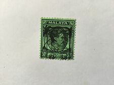 1942 Malaya Japan Occupation Straits S. 50c opt Black Used Sold 'AS IS'.CV Rm850