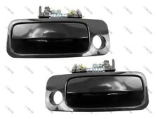 97-01 Camry/ES300 Exterior Outside Door Handle, Smooth Black, Front PAIR