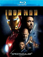 IRON MAN (Blu-Ray DISC ONLY - NO ARTWORK 2008) Robert Downey Jr.