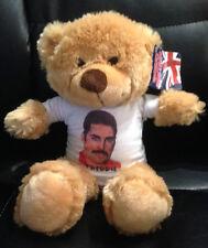 QUEEN Freddie Mercury 8 inch VERY CUDDLY TEDDY BEAR