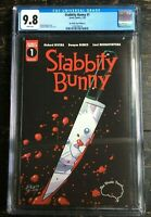 Stabbity Bunny #1 Brain Trust Variant B Limited to 250 Copies CGC 9.8 1292058018