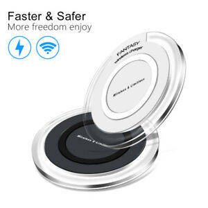 OEM Qi Wireless Charger Fast Charging Pad For Samsung Galaxy S8 Note 8 iPhone 8