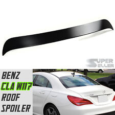 ABS PAINTED MERCEDES BENZ C117 W117 4DR CLA CLASS OE ROOF SPOILER CLA250 2018