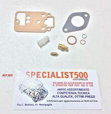 KIT 003 REVISIONE CARBURATORE FIAT 500 GIARDINETTA WEBER 26 OC