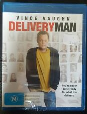 *NEW & SEALED* Delivery Man (Blu-ray, 2014) Vince Vaughn Comedy Movie. Reg B AUS