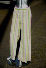Damenhose 70er Schlaghose flower power striped 70er True VINTAGE 70s pants