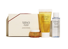 Shiseido WASO Starter Kit Delicious Skin Box : Cleanser Lotion Cream Set