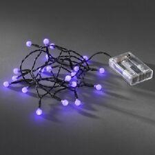 LED Globe-Lichterkette 20er Batterie Timer innen lila 1491-457 xmas