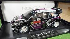 CITROËN DS3 WRC RALLYE du PORTUGAL 2012 au 1/18 d NOREV 181559 voiture miniature